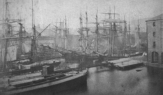 Old Dock, Swansea, Wales 1890