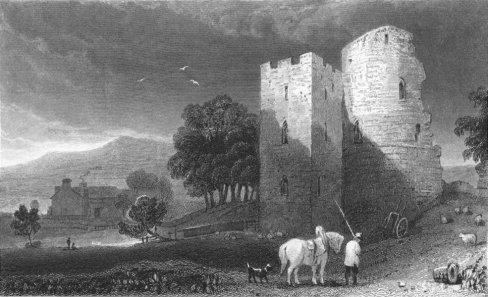 wales-crickhowell-castle-brecknockshire-old-print-1831-34833-p